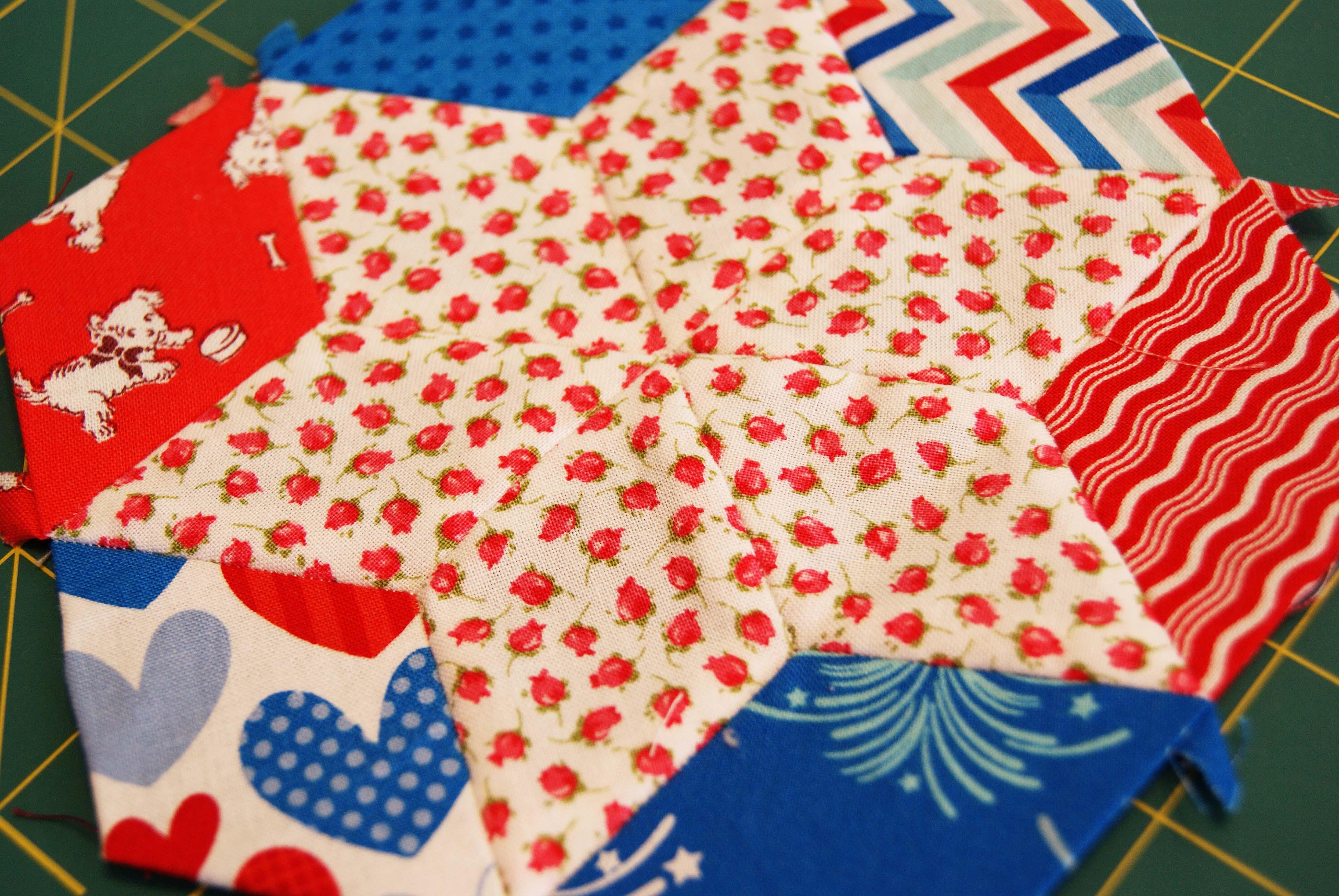 English Paper Piecing – That Crafty Cara