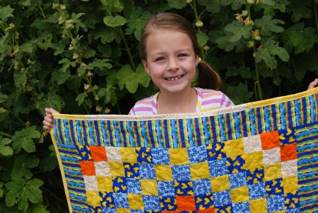 Junebug Brooke's First Quilt