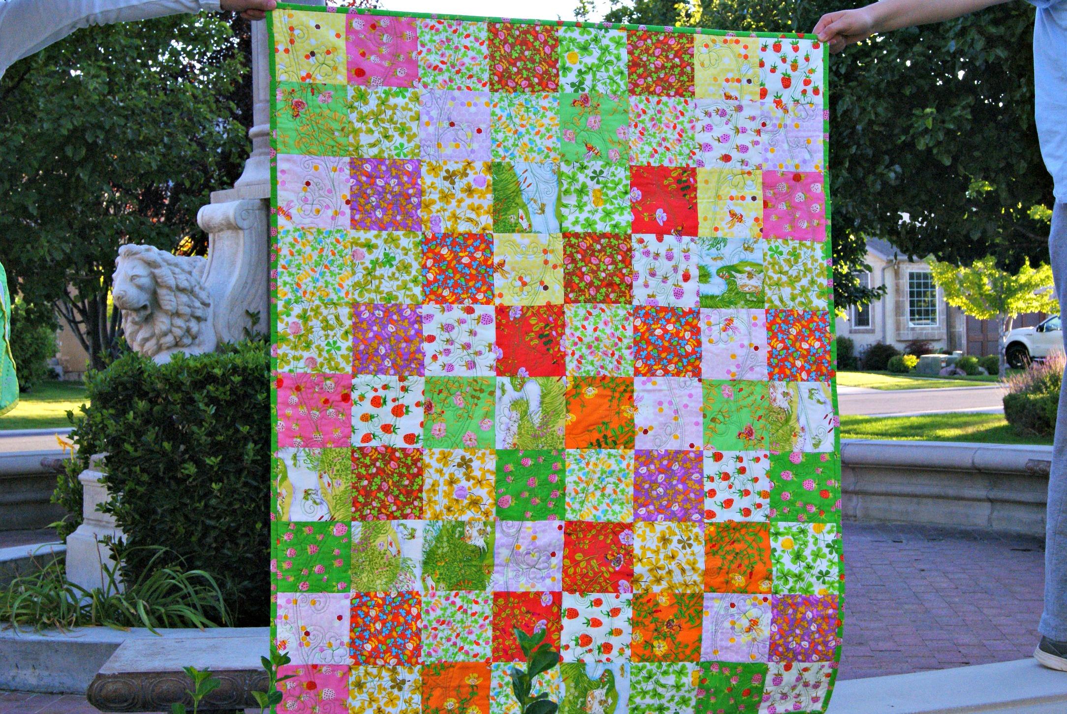 Briar Rose quilt made by Cara Brooke @ thatcraftycara.com